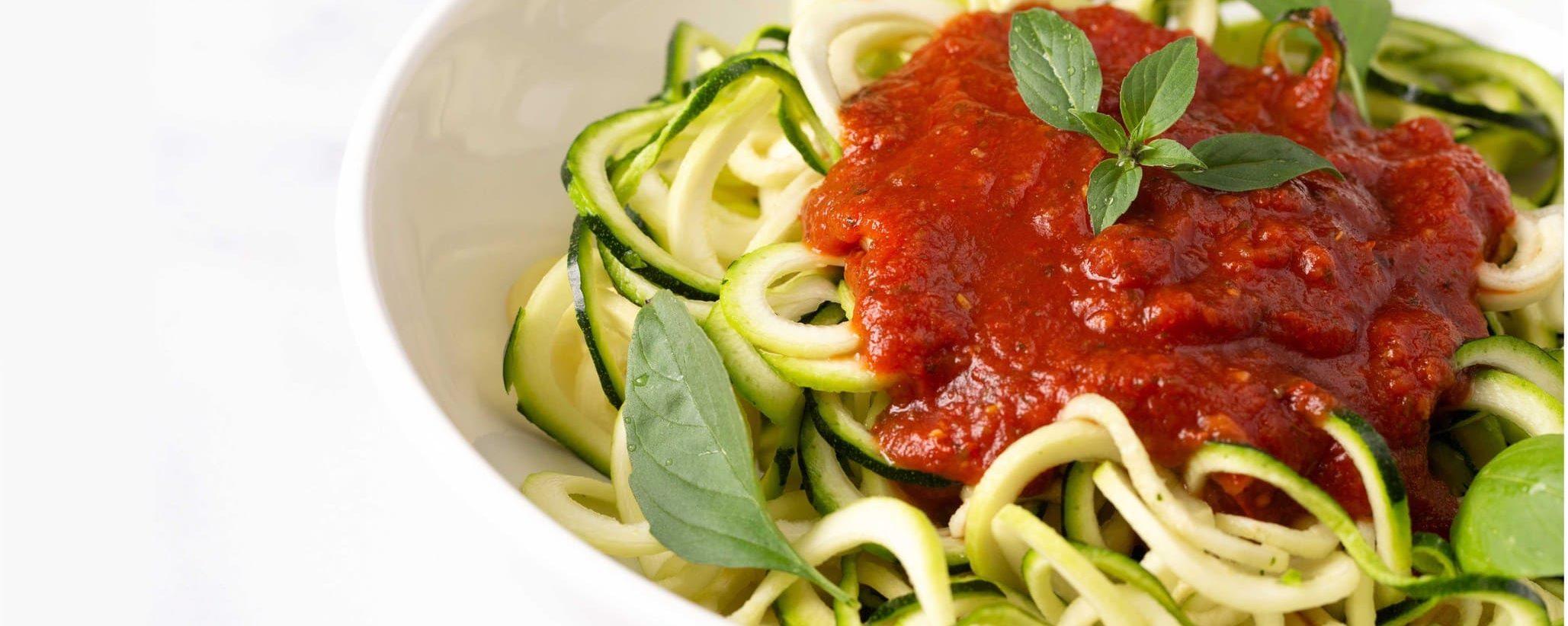 Gluten-Free Primal Zucchini Pasta